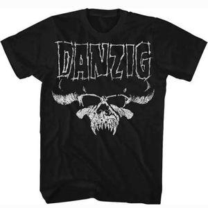 Danzig Demon Skull Logo Heavy Metal Shirt